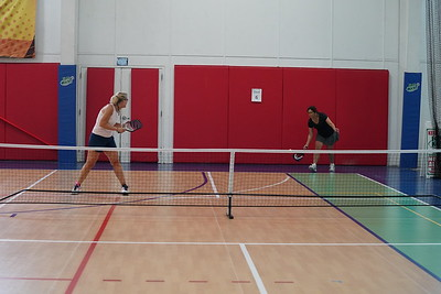 MA Sr Pickleball Tournament - Bev and Chris on Different Court    - 171
