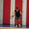 MA Sr Pickleball Tournament - Bev and Chris on Different Court    - 70
