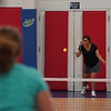 MA Sr Pickleball Tournament - Bev and Chris on Different Court    - 205