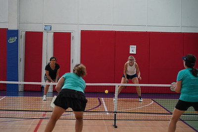 MA Sr Pickleball Tournament - Bev and Chris on Different Court    - 192