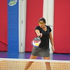 MA Sr Pickleball Tournament - Bev and Chris on Different Court    - 49