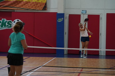 MA Sr Pickleball Tournament - Bev and Chris on Different Court    - 174