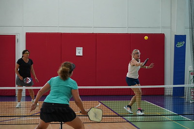 MA Sr Pickleball Tournament - Bev and Chris on Different Court    - 179