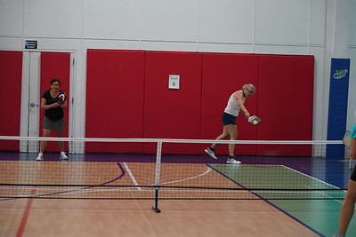 MA Sr Pickleball Tournament - Bev and Chris on Different Court    - 207