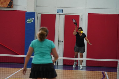 MA Sr Pickleball Tournament - Bev and Chris on Different Court    - 199