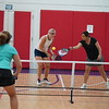 MA Sr Pickleball Tournament - Bev and Chris on Different Court    - 125