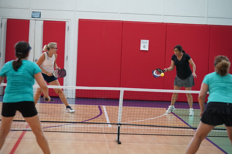 MA Sr Pickleball Tournament - Bev and Chris on Different Court    - 141