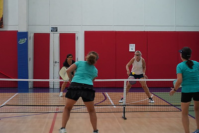 MA Sr Pickleball Tournament - Bev and Chris on Different Court    - 206