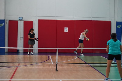 MA Sr Pickleball Tournament - Bev and Chris on Different Court    - 176