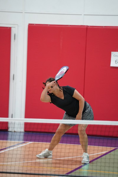 MA Sr Pickleball Tournament - Bev and Chris on Different Court    - 39