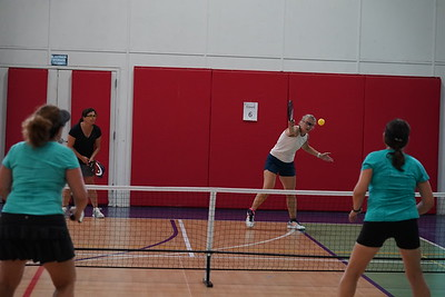 MA Sr Pickleball Tournament - Bev and Chris on Different Court    - 195