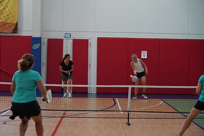 MA Sr Pickleball Tournament - Bev and Chris on Different Court    - 191