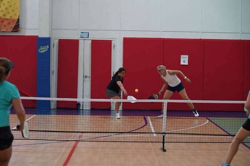 MA Sr Pickleball Tournament - Bev and Chris on Different Court    - 177