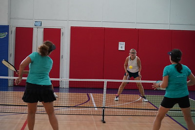 MA Sr Pickleball Tournament - Bev and Chris on Different Court    - 197