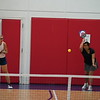 MA Sr Pickleball Tournament - Bev and Chris on Different Court    - 96