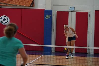 MA Sr Pickleball Tournament - Bev and Chris on Different Court    - 181