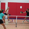 MA Sr Pickleball Tournament - Bev and Chris on Different Court    - 124