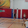 MA Sr Pickleball Tournament - Bev and Chris on Different Court    - 17