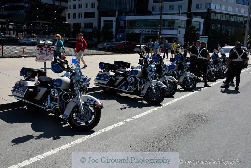 Boston Police Motorcycle unit