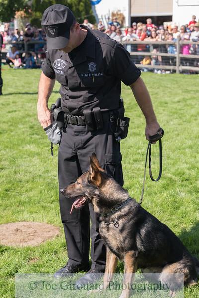 Massachusetts State Police K9 Demo