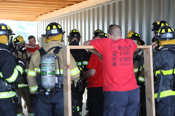 MAAC Foundation Fire  Academy  AIR Packs