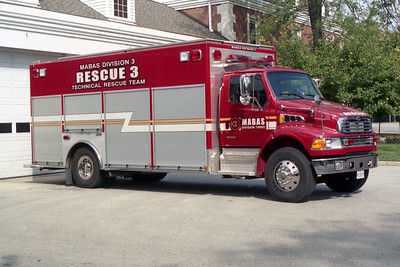 MABAS DIVISION 3  RESCUE 3