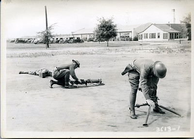1917 MG TRAINING PICTURES