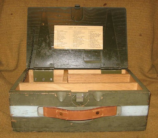 CHEST, SPARE PARTS 49-1-82