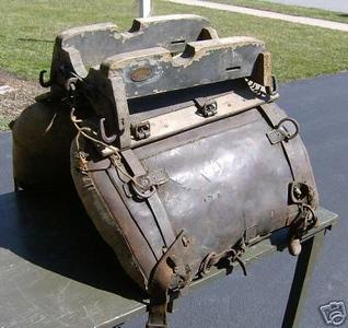 Artillery Pack Saddle for 12 pdr Mt. Howitzer or 45-70 Gatling Gun Indian Wars - Span -Am Era