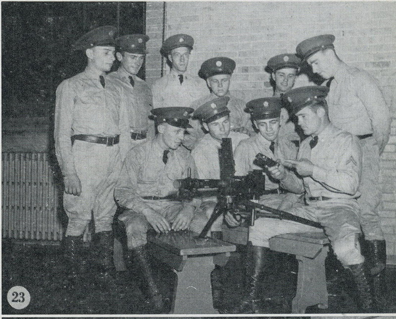 1939 NATIONAL GUARD OF THE UNITED STATES<br /> <br /> STATE OF WISCONSIN<br /> <br /> 105th CAVALRY, THIRD SQUADRON, TROOP I <br /> <br /> MILWAUKEE, WISCONSIN<br /> <br /> SCANNED FROM YEARBOOK/PICTORIAL<br /> <br /> PAGE 23<br /> <br /> (CRAIG JOHNSON COLLECTION)