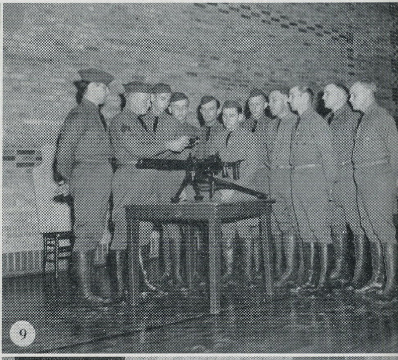 1939 NATIONAL GUARD OF THE UNITED STATES<br /> <br /> STATE OF WISCONSIN<br /> <br /> 32nd TANK COMPANY<br /> SPECIAL TROOPS 32nd DIVISION<br /> <br /> JANESVILLE, WISCONSIN<br /> <br /> SCANNED FROM YEARBOOK/PICTORIAL<br /> <br /> PAGE 42<br /> <br /> (CRAIG JOHNSON COLLECTION)