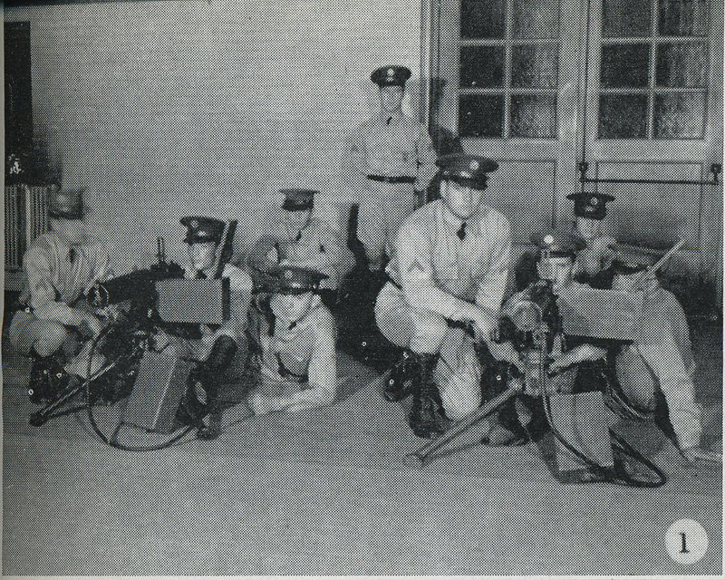 1939 NATIONAL GUARD OF THE UNITED STATES<br /> <br /> STATE OF WISCONSIN<br /> <br /> 105th CAVALRY, MACHINE GUN TROOP TROOP <br /> <br /> MILWAUKEE, WISCONSIN<br /> <br /> SCANNED FROM YEARBOOK/PICTORIAL<br /> <br /> PAGE 23<br /> <br /> (CRAIG JOHNSON COLLECTION)