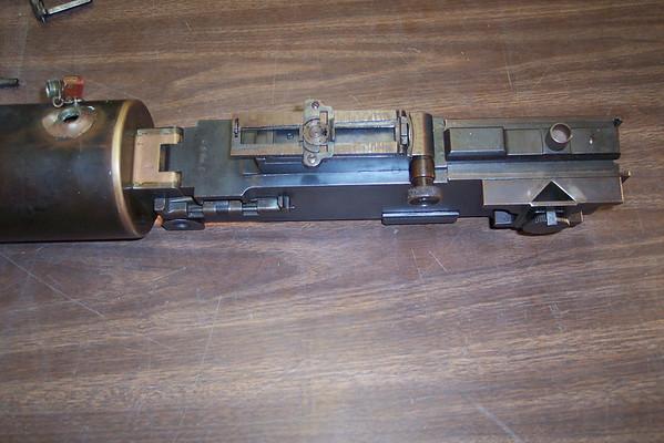 San Quentin Model 1917 Tripod and Machine Gun