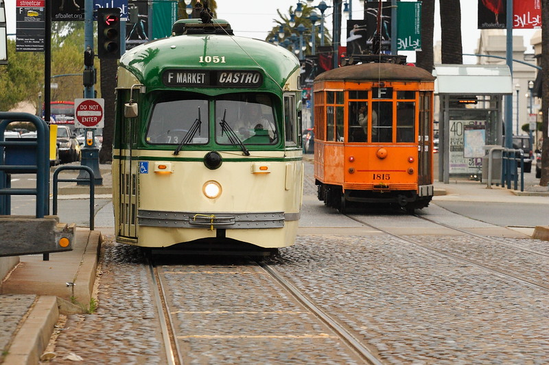 Trolleys, San Francisco CA