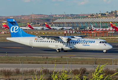 Air Europa Express ATR 72-500 EC-MSN 3-12-19