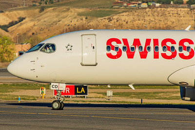 Swiss Airbus A220-300 HB-JCD 3-12-19