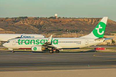 Transavia France Boeing 737-84P F-HTVK 3-12-19