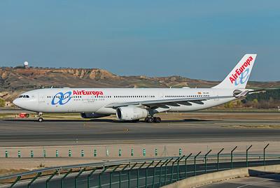 Air Europa Airbus A330-343 EC-LXR 3-12-19