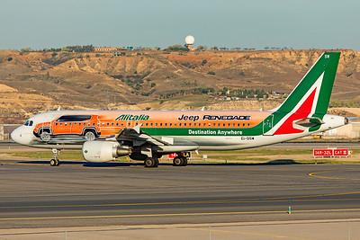 Alitalia Airbus A320-216 EI-DSW 3-12-19