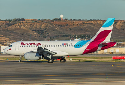 Eurowings Europe Airbus A319-132 OE-LYZ 3-12-19