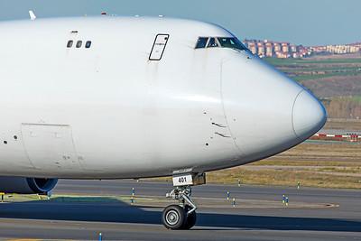 Kalitta Air Boeing 747-481F N401KZ 3-12-19 2