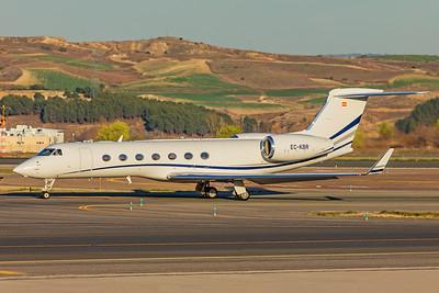 TAG Aviation España Gulfstream G550 EC-KBR 3-12-19
