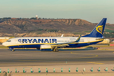 Ryanair Boeing 737-8AS EI-DLI 3-12-19
