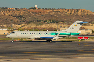 Mercadona Supermercado Bombardier BD-700-1A10 Global 6000 EC-MSC 3-12-19