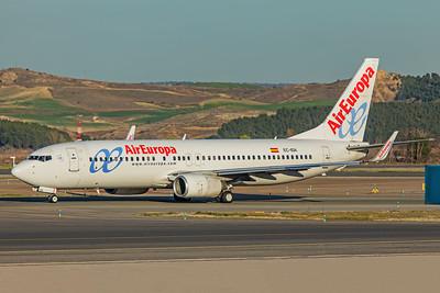 Air Europa Boeing 737-86Q EC-IDA 3-12-19