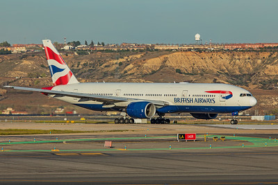 British Airways Boeing 777-236(ER) G-YMMF 3-12-19
