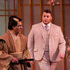 Baritone Bernardo Bermudez is Prince Yamadori and baritone Anthony Clark Evans is Sharpless in San Diego Opera's MADAMA BUTTERFLY (April, 2016). Photo by J. Katarzyna Woronowicz.