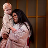 Charlie Wattson is Trouble and soprano Latonia Moore is Cio-Cio San in San Diego Opera's MADAMA BUTTERFLY (April, 2016). Photo by J. Katarzyna Woronowicz.