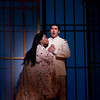 Soprano Latonia Moore is Cio-Cio San and tenor Teodor Ilincai is B.F. Pinkerton in San Diego Opera's MADAMA BUTTERFLY (April, 2016). Photo by J. Katarzyna Woronowicz.