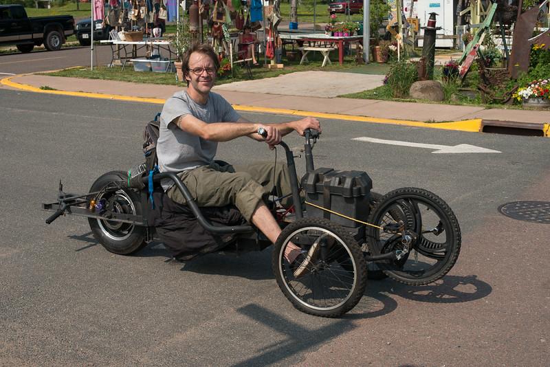 Handmade electric vehicle